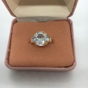 Large CZ costume ring